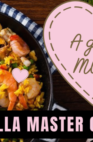Paella Master-Class and dinner for MUM